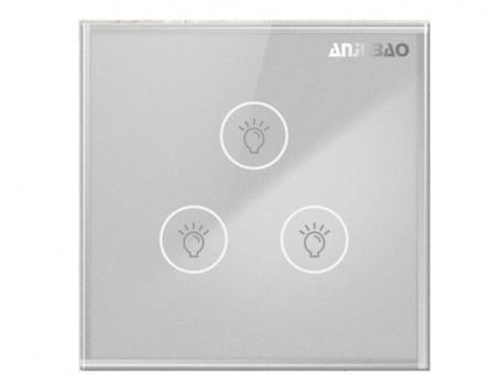 三位電容觸摸智能燈控